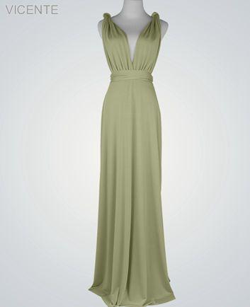 Green maxi dress for wedding guest