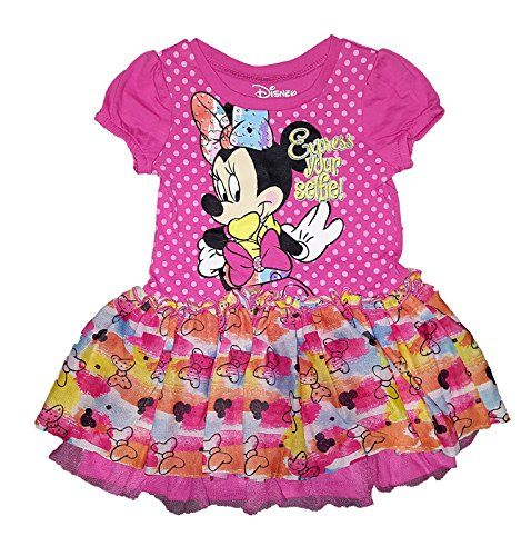 99cc9303ebad Disney Baby Minnie Mouse Xpress Toddler Your Selfie Dress 3T ...