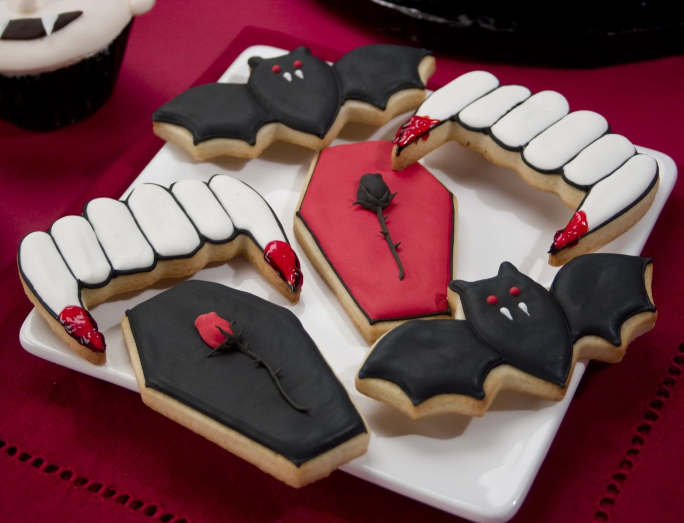 Halloween Cookie Decorating Repinned By #TheCookieCutterCompany - Halloween Decorated Cookies