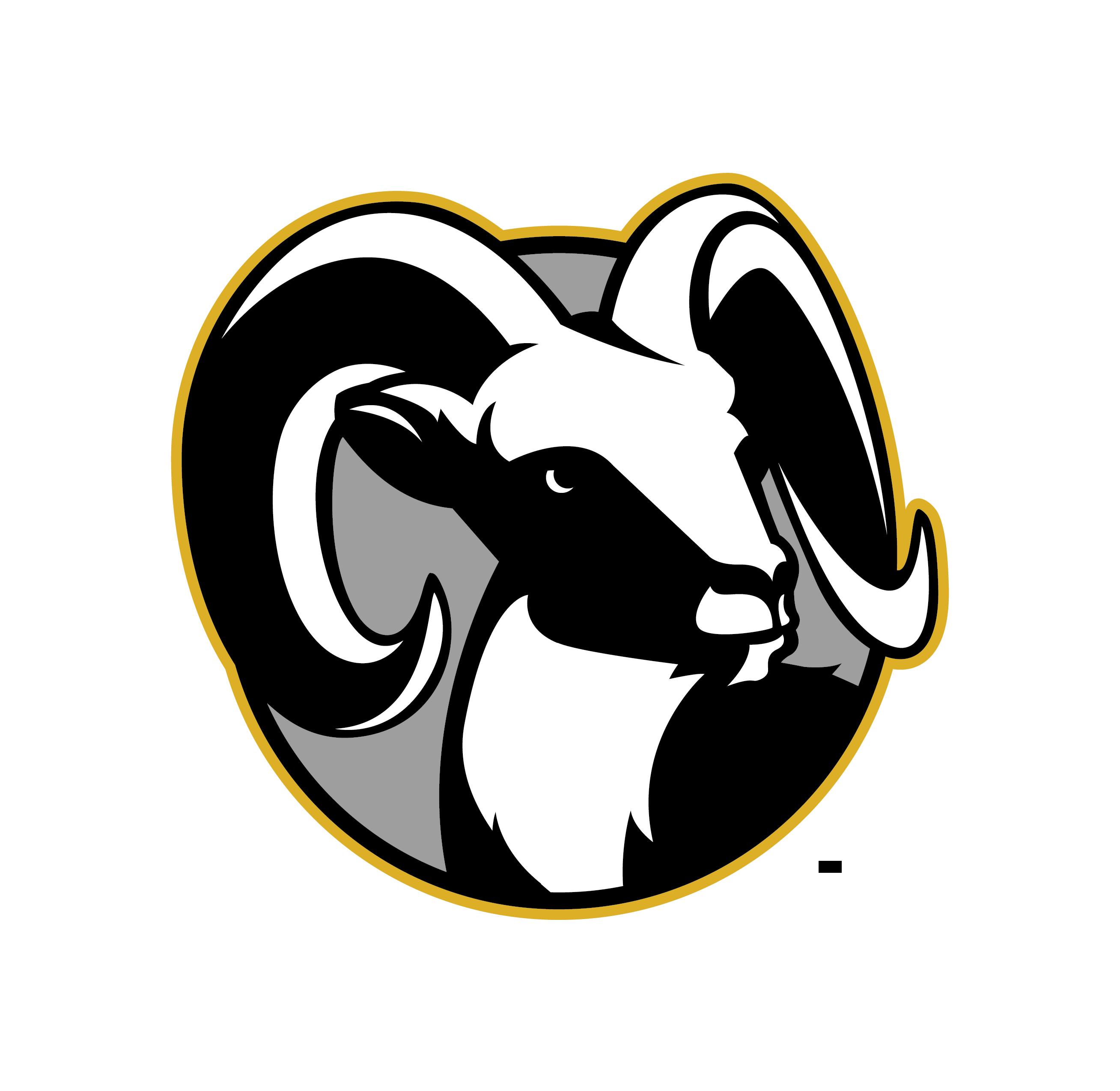 HighlandHighSpiritRam Typographic logo, Aries ram tattoo