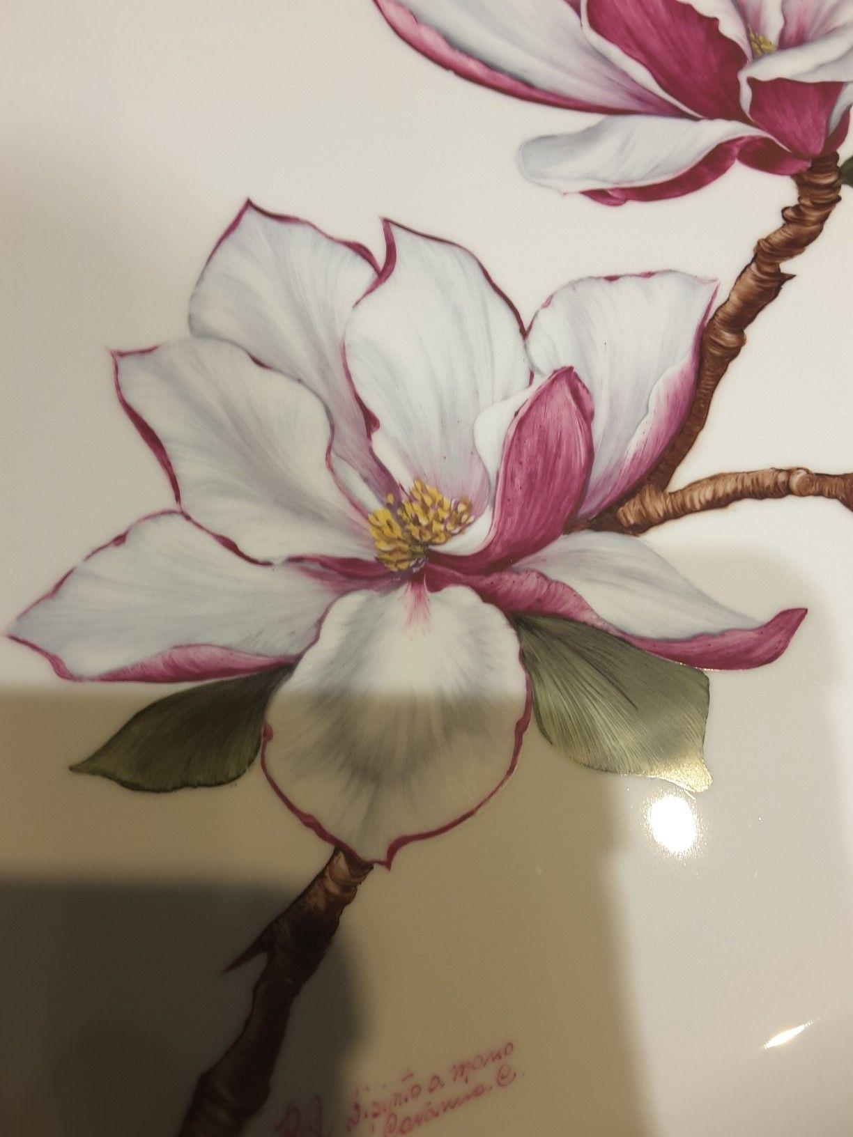 Epingle Par Odile Bezault Sur Peinture Porcelaine Coquelicots