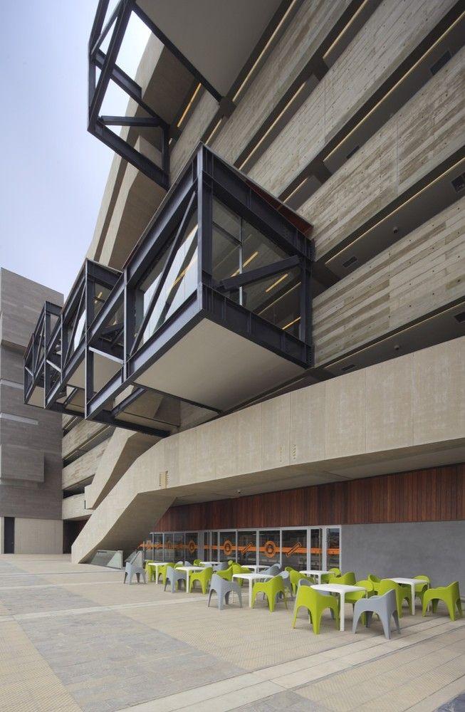 Galería - Edificio de Aulas de Ingeniería y Ciencias PUCP / Llosa Cortegana Arquitectos - 2