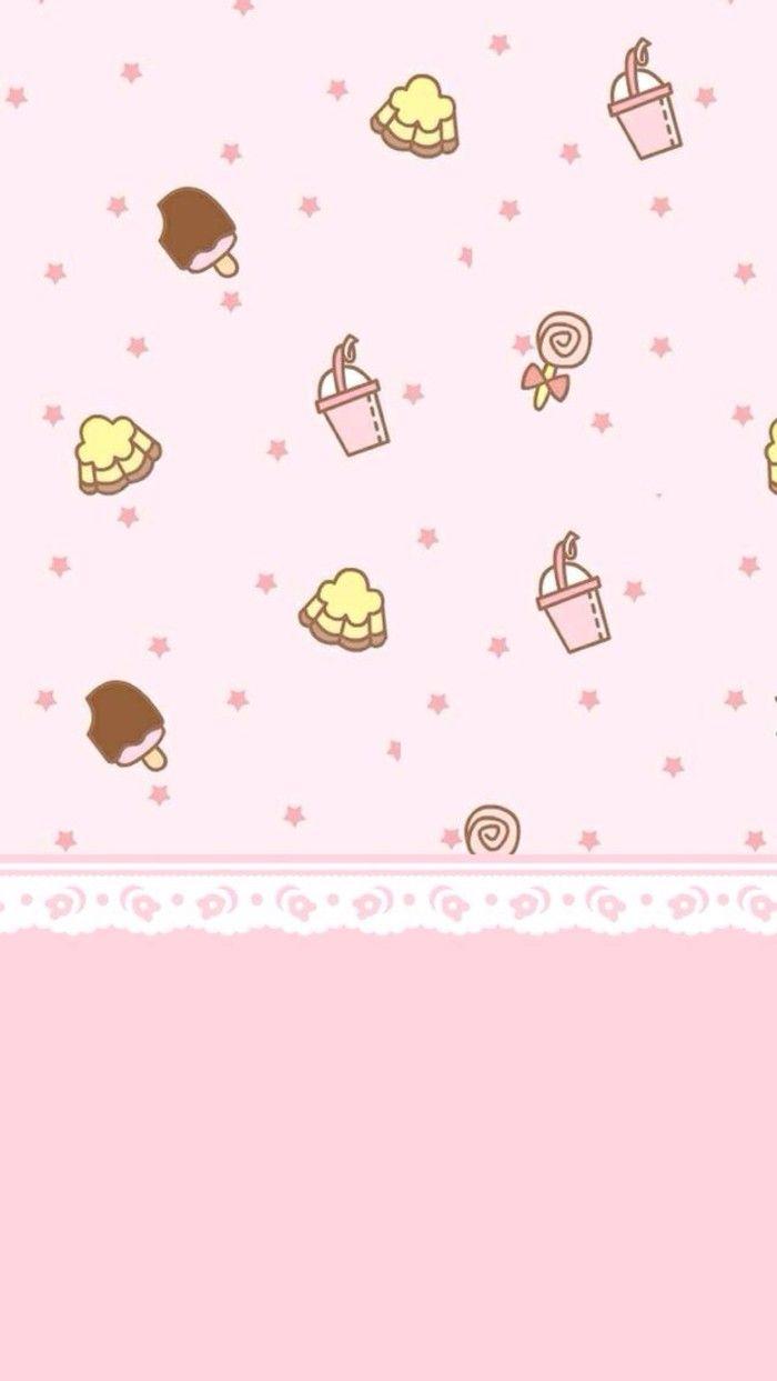 Kawaii Pastel Pink Background : kawaii, pastel, background, _来自真的只是前女友的图片分享-堆糖, Wallpaper, Iphone,, Kawaii, Wallpaper,