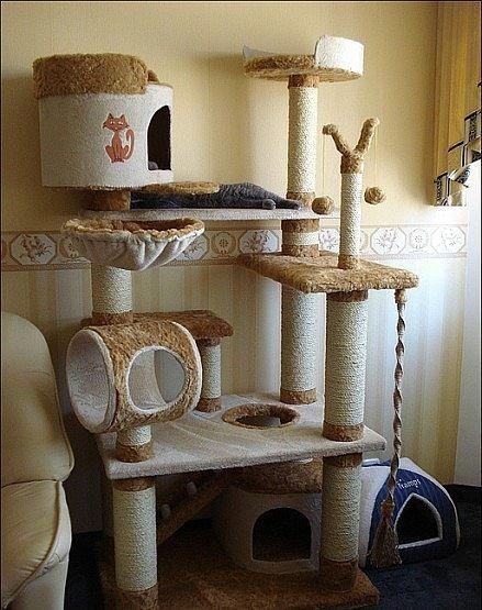 Домики для кошек - фото 13 | Кошачья мебель, Кошачьи дома ...