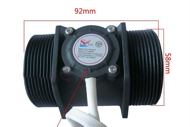 Compare Prices 2 Inch Water Flow Sensor Hall Flow Meter Turbine Turbine Flow Meter Yamahaatv Water Flow Flow Plumbing
