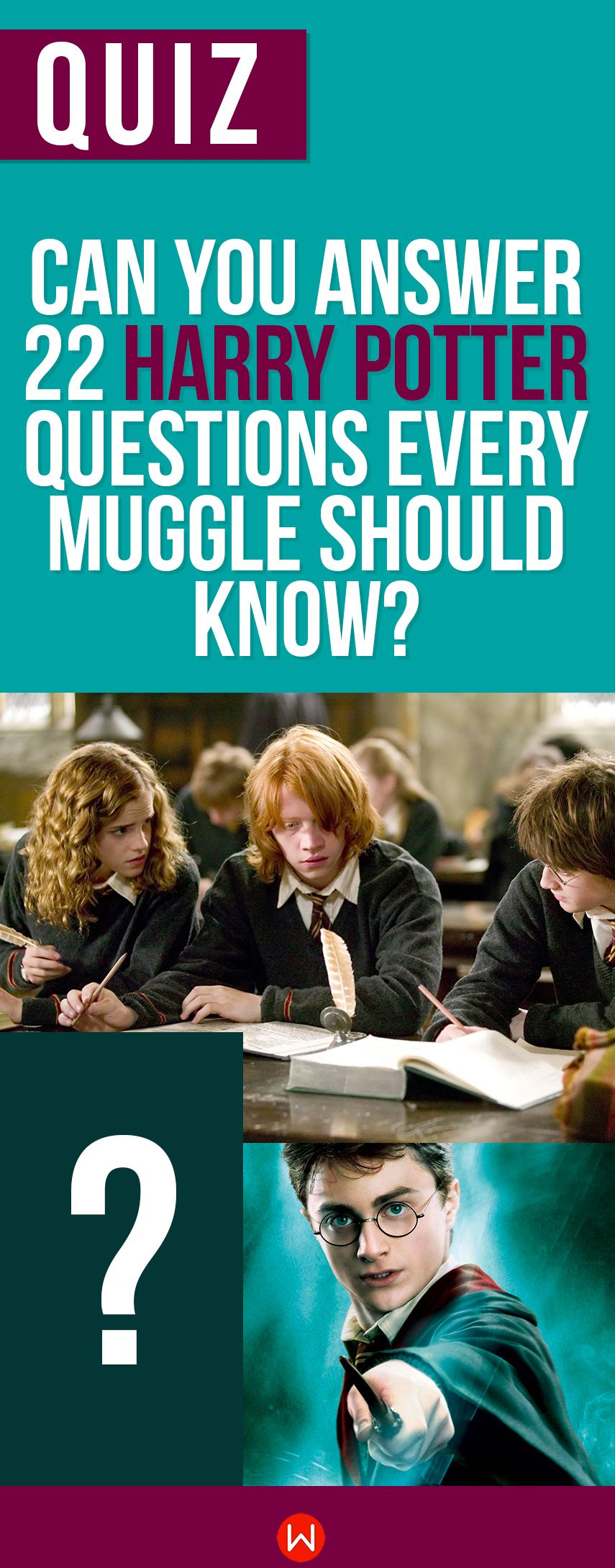 Quiz Can You Answer 22 Harry Potter Questions Every Muggle Should