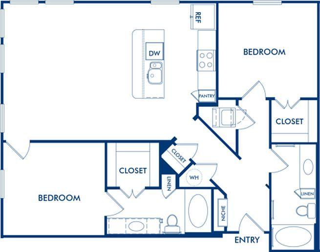 Camden Belmont Renting A House Pet Friendly Apartments Floor Plans