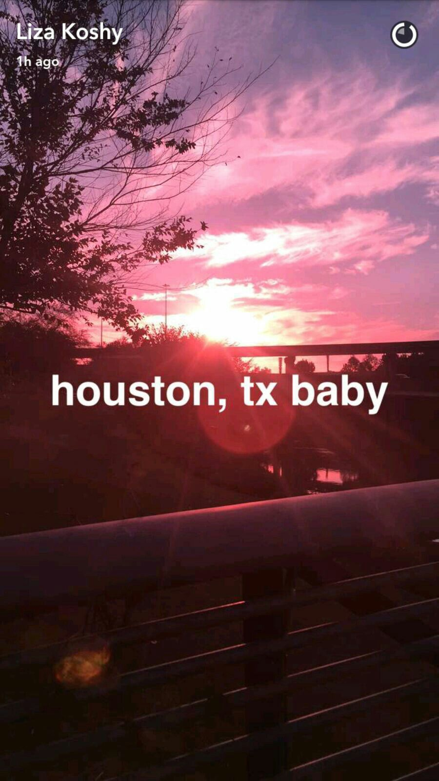 Houston Texas babyyy!! Like Beyoncé