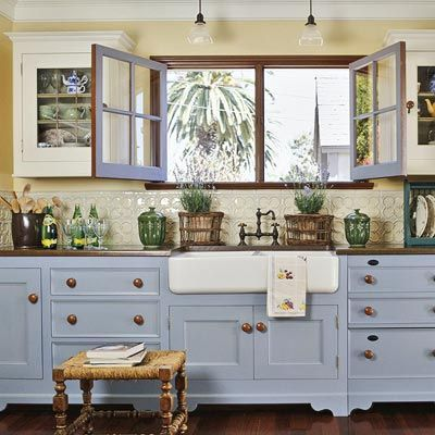 Country Style Windows Another Kitchen That Would Definitely Fit My In Dream Home