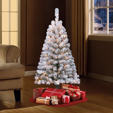 24++ Flocked christmas tree walmart trends