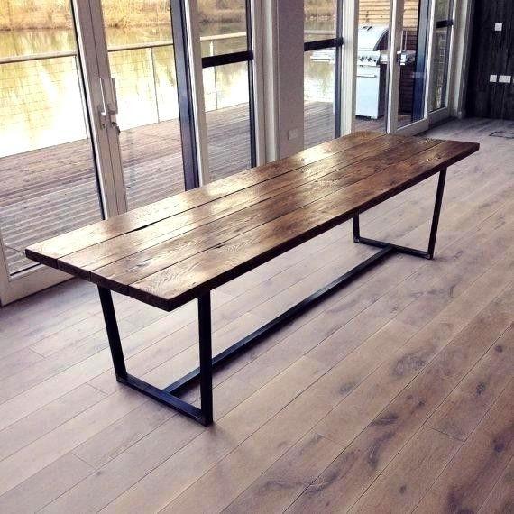Küche Tisch Designs Inspirierende Diy Massivholz Esstisch
