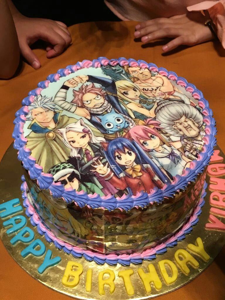 Картинка торт для аниме