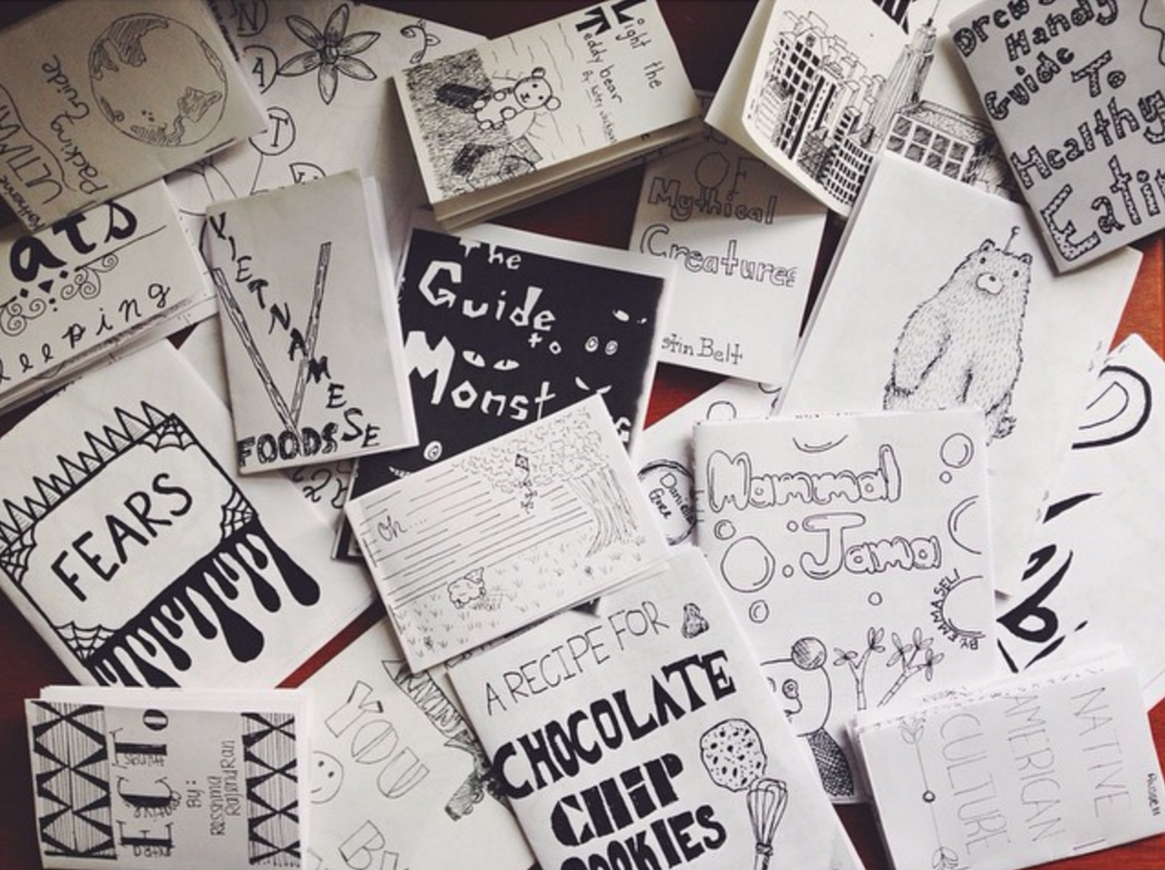 all of our advice should just be tiny zines ok | Zine, Teaching blogs, Kids writing