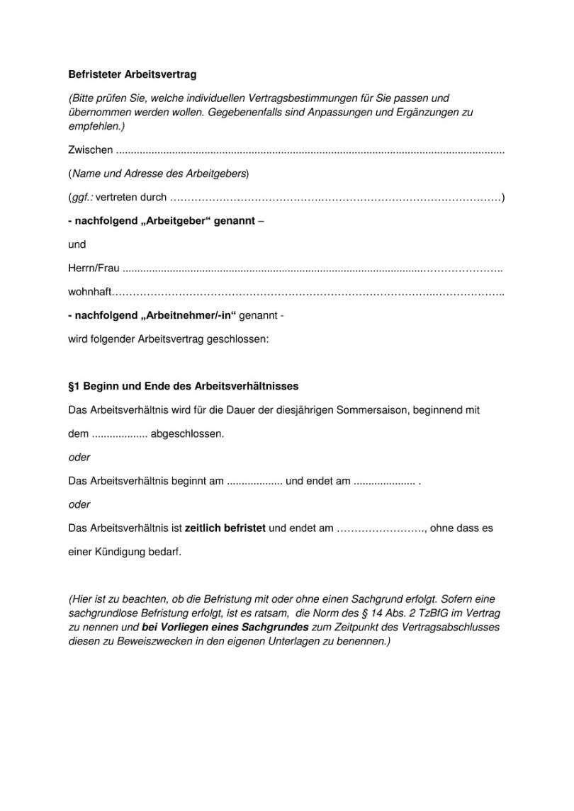 Vorlage Arbeitsvertrag Minijob Lebenslauf Vorlagen Lebenslauf Vorlagen