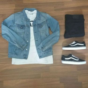 50 Awesome Streetwear Outfits Grids Ideas for Men (32) #outfitgrid