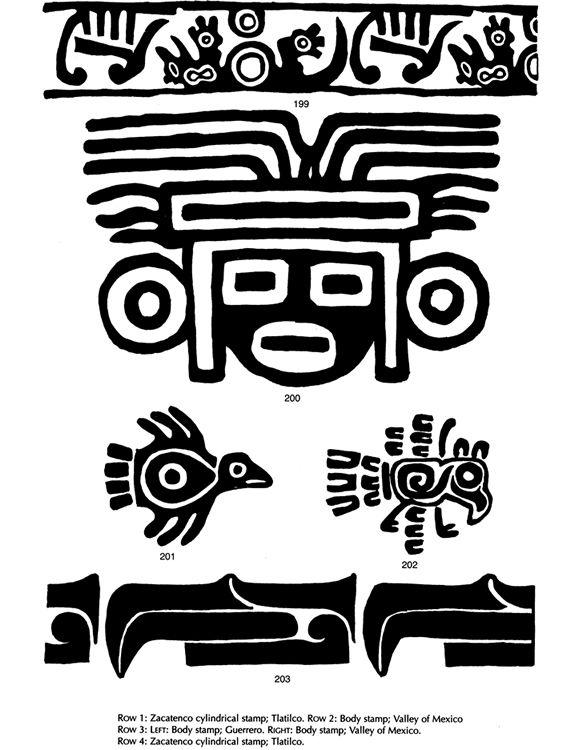 Ancient Mexican Symbolism Mexican Art Pinterest Symbols Art