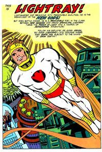 Lightray of the New Gods by Jack Kirby
