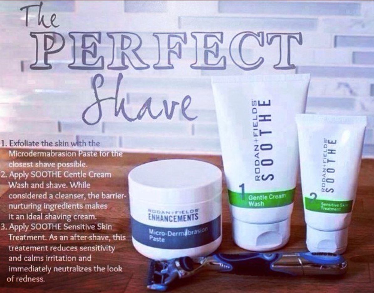 Irritation After Shaving? Not If You Incorporate Rodan + Fields  Microdermabrasion Paste