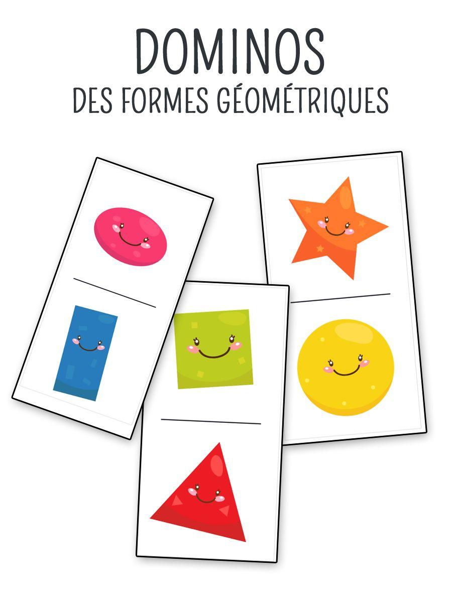 jeu de domino imprimer sur les formes g om triques les formes g om triques formes. Black Bedroom Furniture Sets. Home Design Ideas