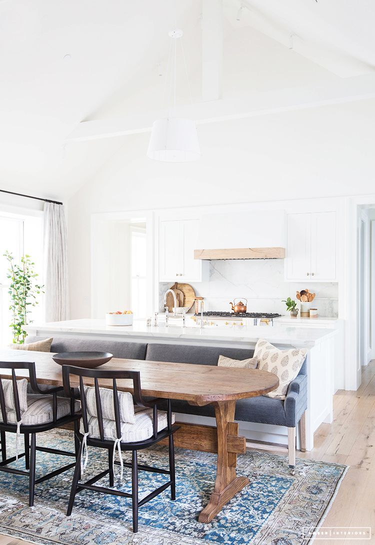 Blanco mármol y madera para una cocina abierta três studio blog