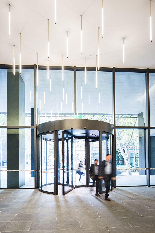 570 Bourke Street, Melbourne: Featuring a DORMA KTC Revolving Door