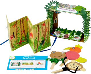Subscriptions For Kids Green Kid Crafts Rainforest Theme Fun Arts And Crafts Green Crafts For Kids