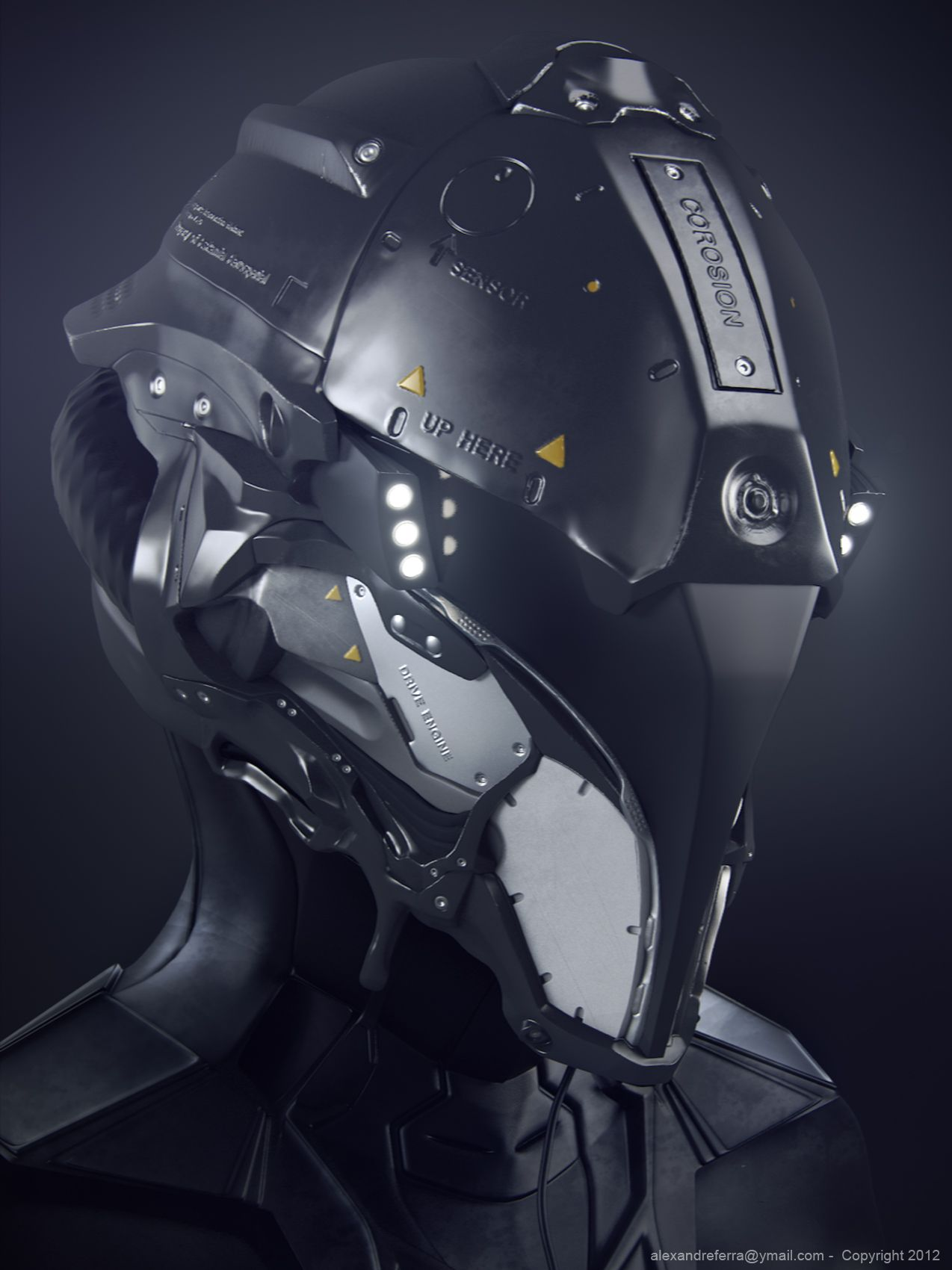 10 Futuristic Helmet Concepts That I Would Buy Today Cyberpunk