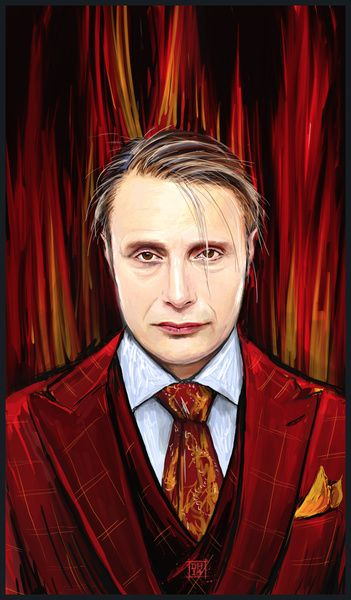 Another Hannibal Artblog: Art of the month - November 2015 #Hannibal #NBCHannibal #Hannibal #HannibalLecter #Fanart