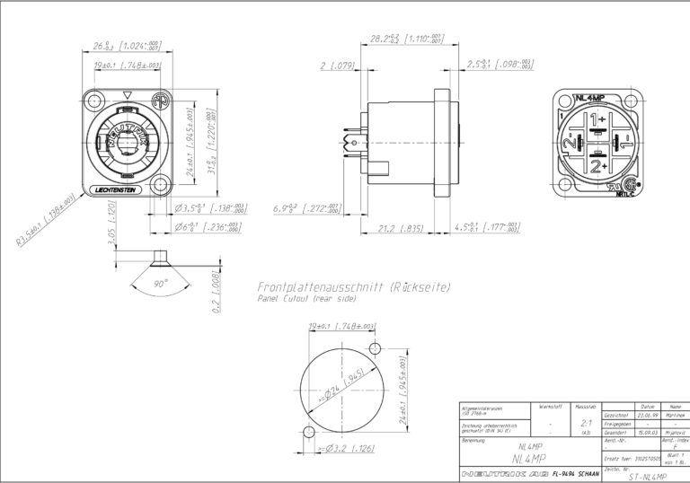 speakon speaker wiring diagram