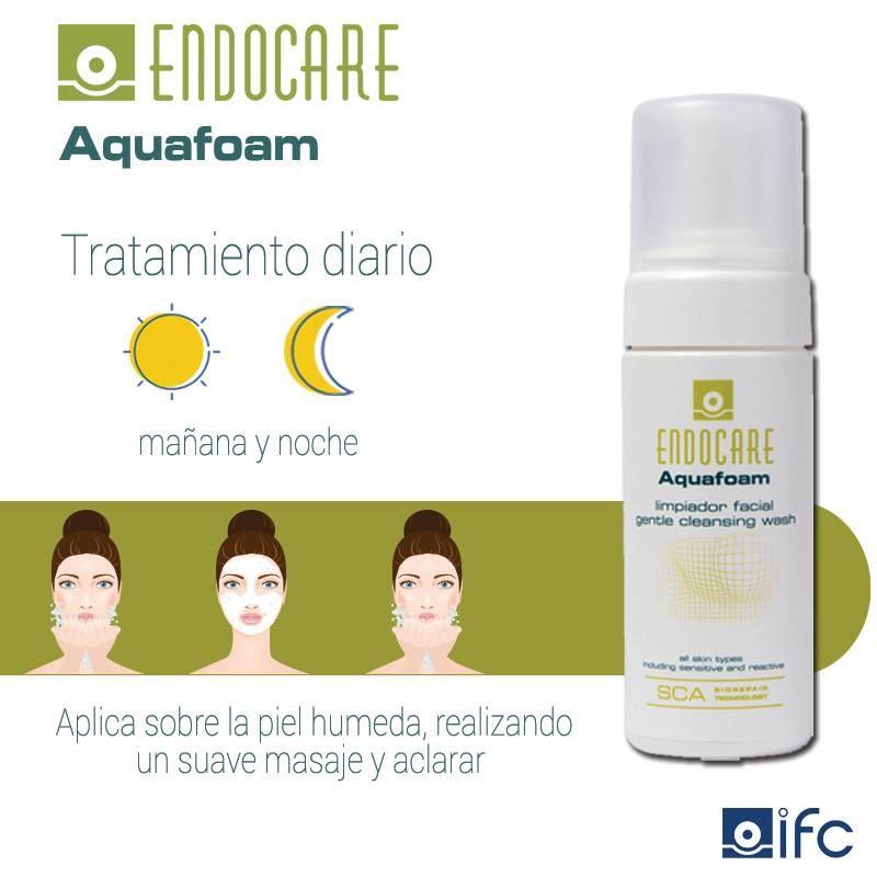¿Sabes cómo aplicarte correctamente Endocare Aquafoam? Toma nota de estos sencillos pasos: