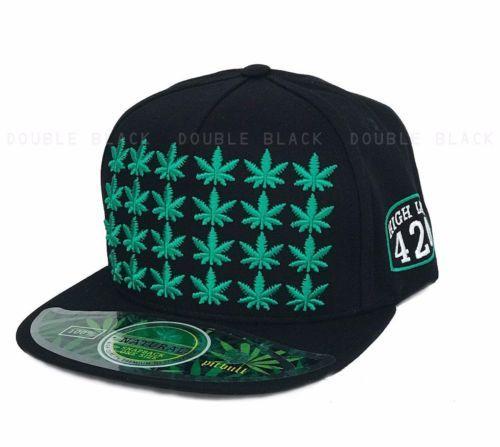 ce62fb28ce9 Marijuana-Hat-420-High-Life-Snapback-3D-Cannabis-Leaves-Embroidery-Baseball- Cap