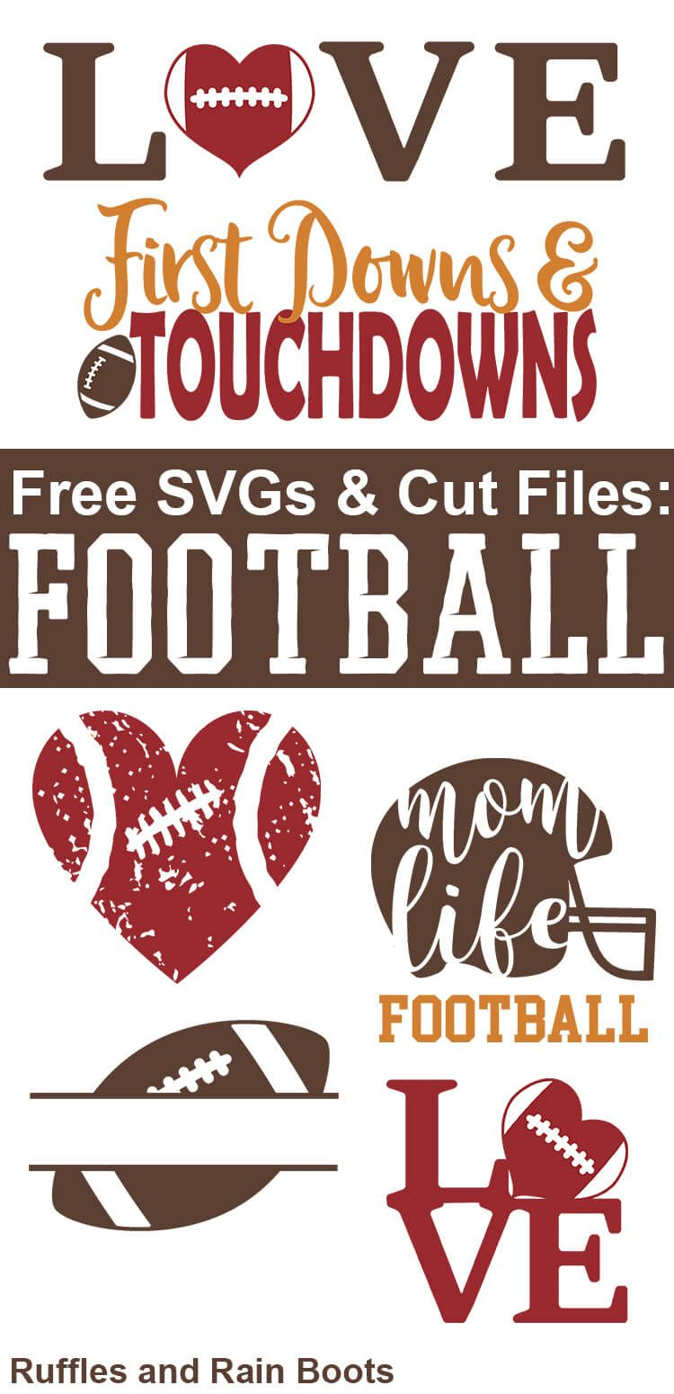 Free Football SVGs Football Season Never Looked So Good