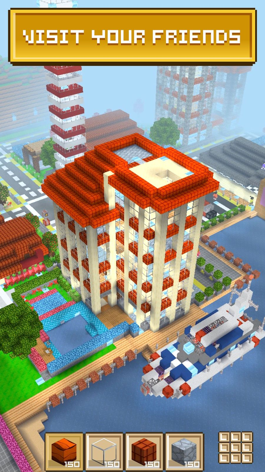 Block Craft 3d City Building Role Free Playing Entertainment