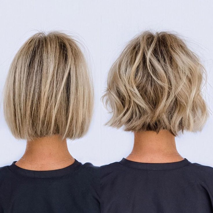From Soft Blunt To Textured Bob In About 10 Min From Soft Blunt To Textured Bob In 2020 Bob Haircut For Fine Hair Medium Hair Styles Haircuts For Fine Hair