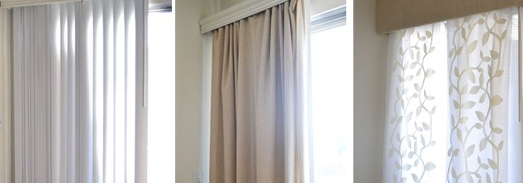 How To Hide Or Replace Vertical Blinds Replace Vertical Blinds