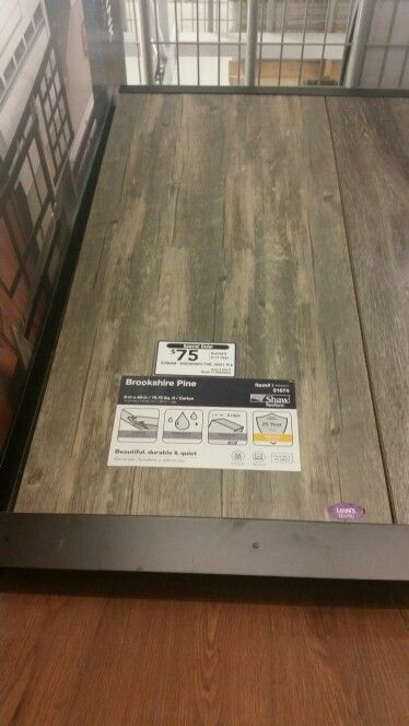Special order flooring from Lowes we liked | For the New