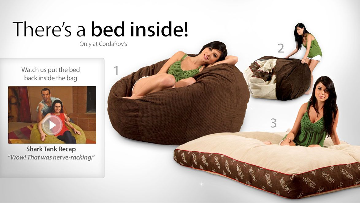 Theres A Bed Inside Only At Cordaroys Watch The Video Bean