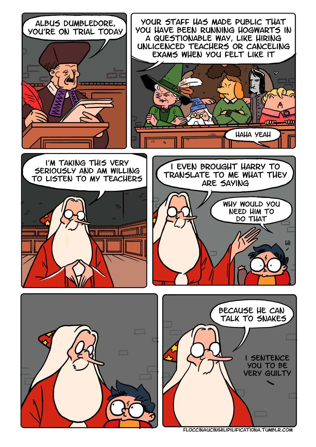 Dumbledor Against Ministry Of Magic Harry Potter Comics Harry Potter Funny Harry Potter Jokes