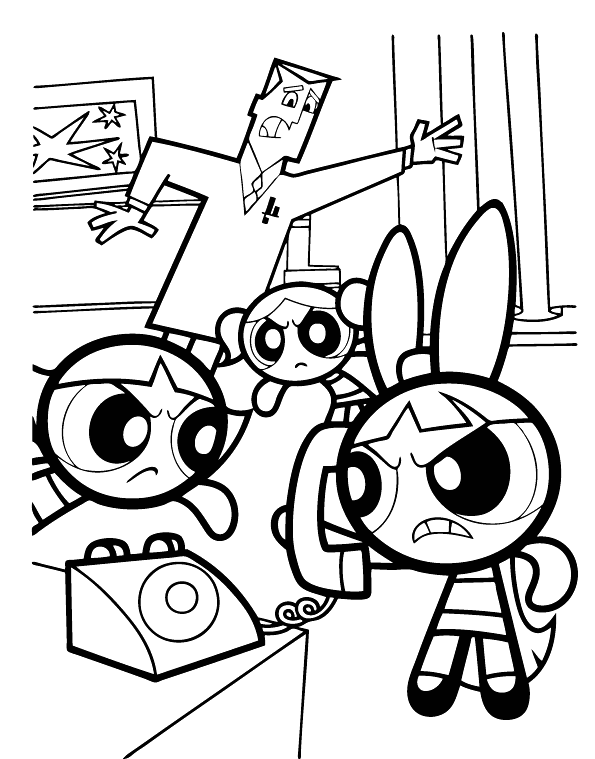 fun collection of powerpuff girls coloring pages they are printable powerpuff girls coloring pages for children the powerpuff girls is the kindergarten g - Powerpuff Girls Coloring Page