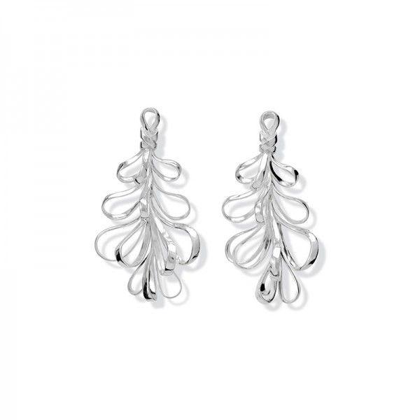 Capim Dourado Silver Earrings