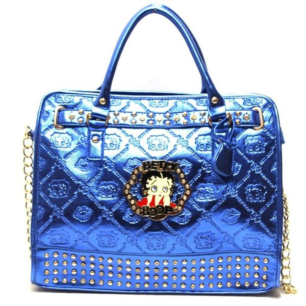 e287fb90c835 BP170 COBALT Wholesale Betty boop Handbag - Betty Boop Handbags ...