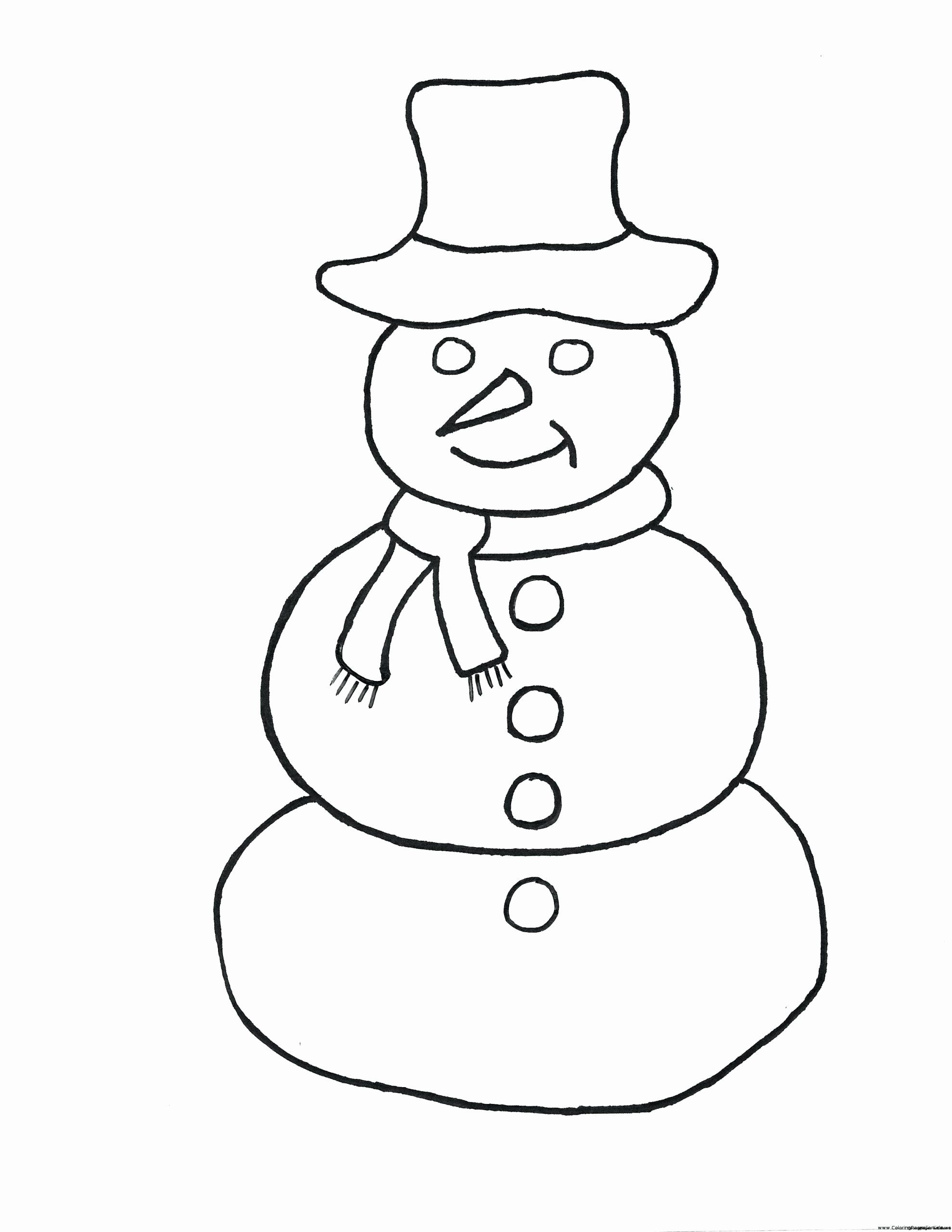 Winter Hat Coloring Pages New Coloring Pages Frosty the ...