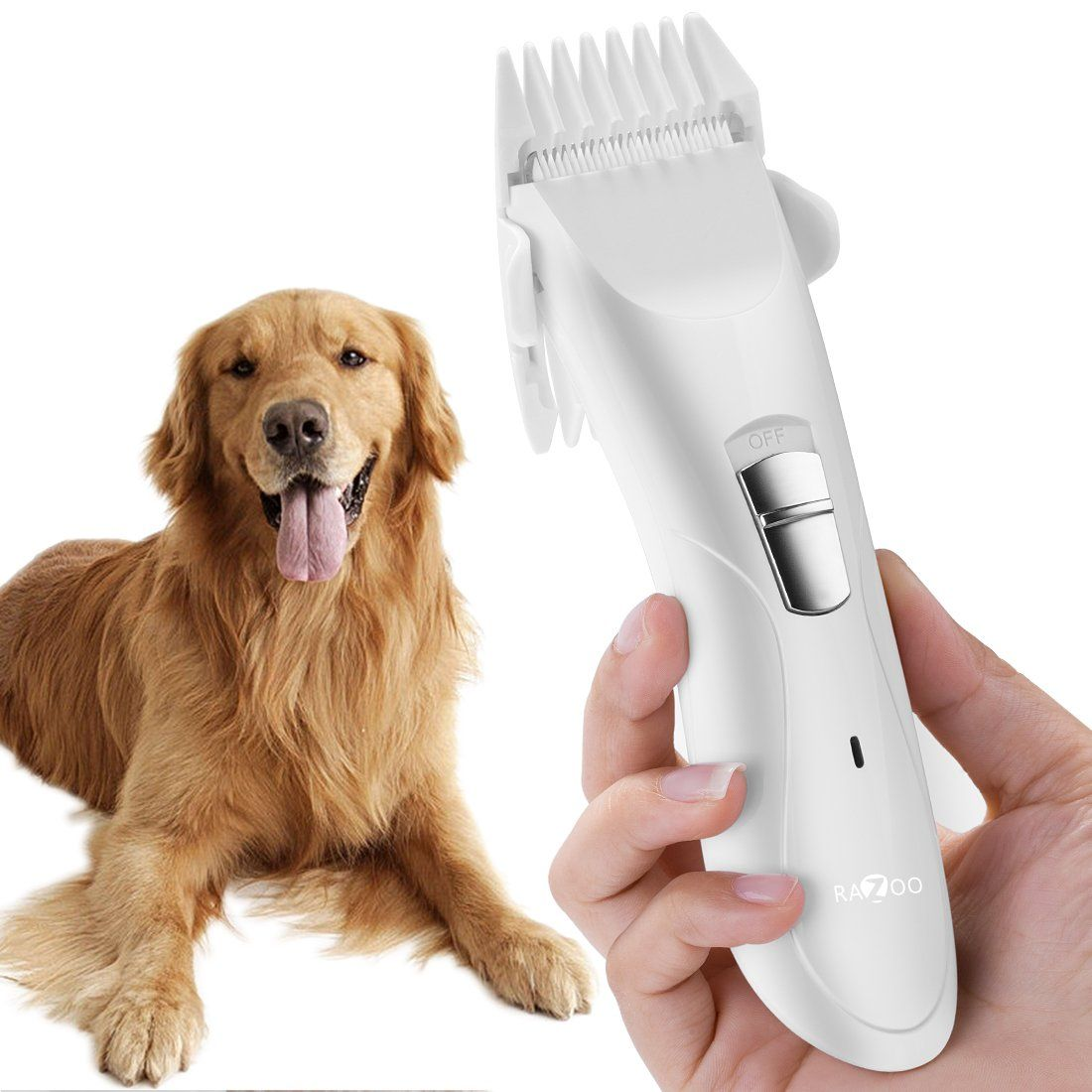 Heavy Duty Pet Hair Clipper Dogs Cats Cordless Professional Grooming Trimming Kit Set Learn More Testimonials Of The Product Hair Clippers Pet Hair Dog Cat