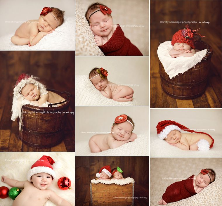 Christmas Newborn Baby Photo Ideas