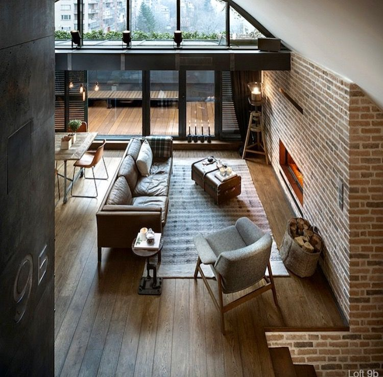 loft apartment brick. Loft Space With Cool Ceiling Detail Pin By Emily M  Silbernagel On Home Ideas Pinterest Interiors