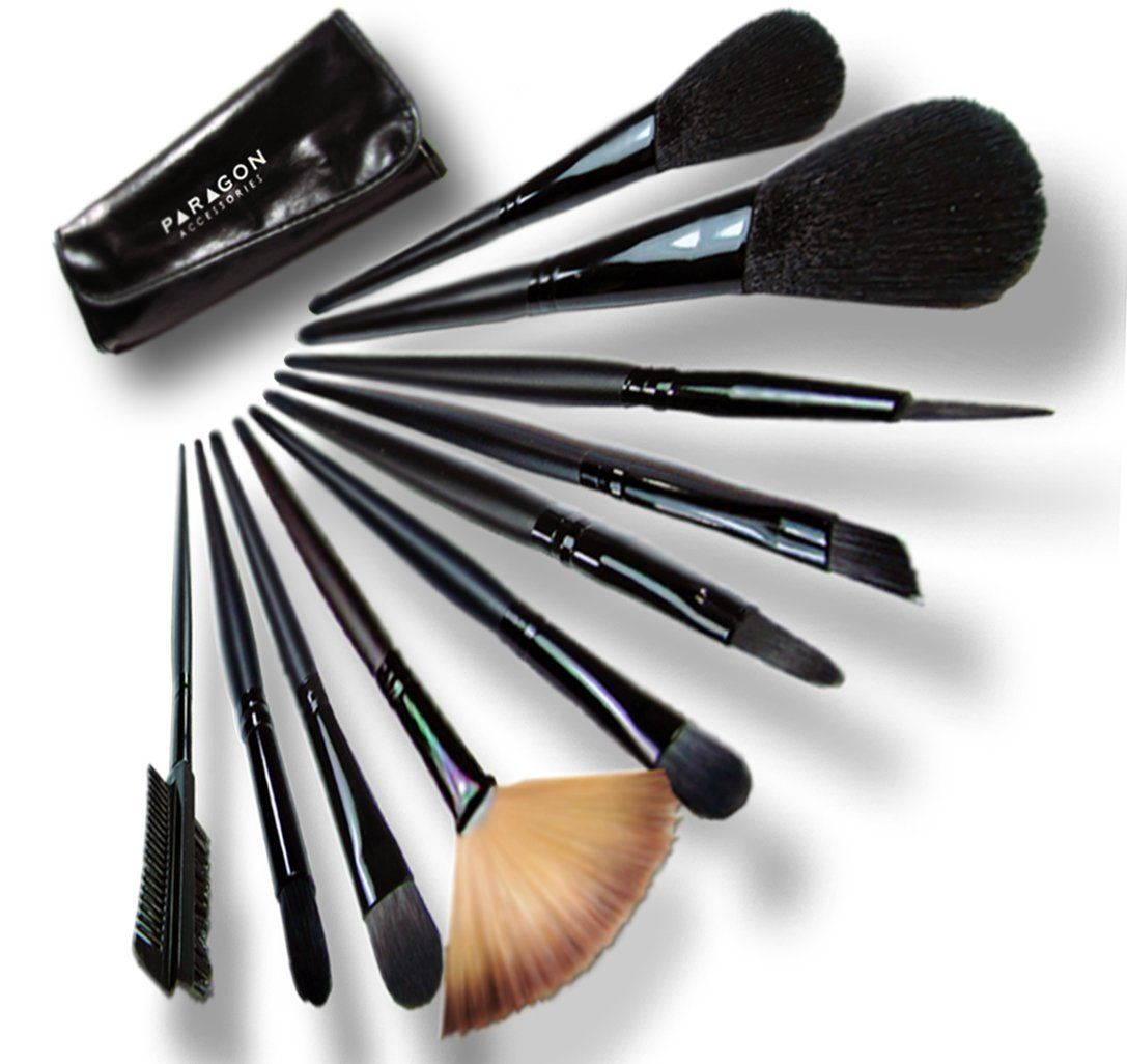 Paragon Accessories Makeup Brushes-12 Pieces * Check this awesome product by going to the link at the image.