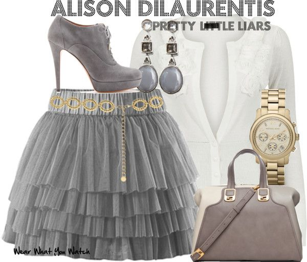 Inspired by Pretty Little Liars character Alison DiLaurentis played by Sasha Pieterse.