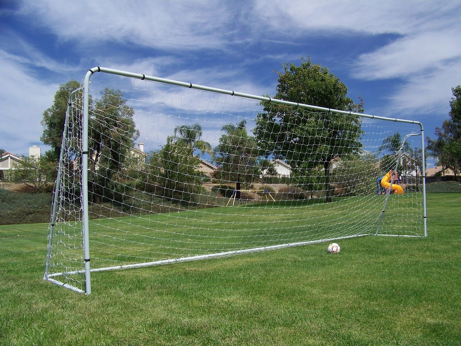 Official Youth Modified Size 21 X 7 X 5 Ft. Steel Soccer Goal. Heavy ... ceaf513aa