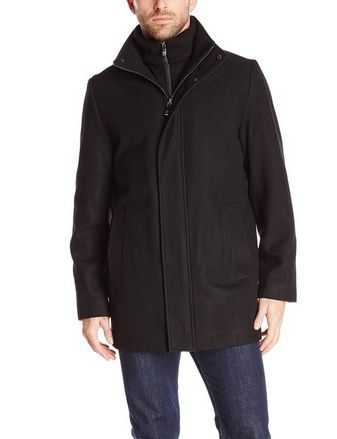 cool Men's Car Coat with Front-Zip Bib - For Sale | Men's Coats ...