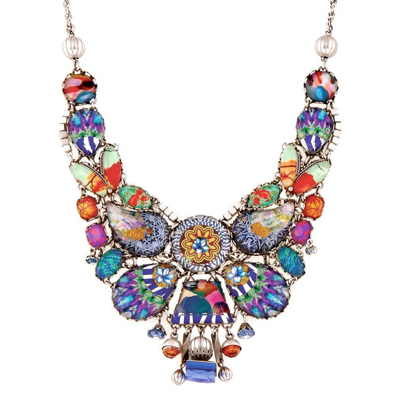 Ayala Bar Jewelry Turkish Tile Necklace Bar Jewelry Bar Necklace Jewelry